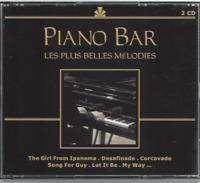 ALBUM  2 CD PIANO BAR LES PLUS BELLES MÉLODIES CO128