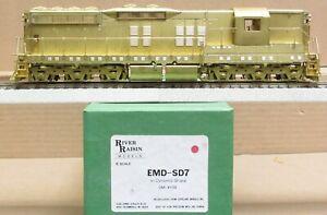 River Raisin Models - EMD SD-7 Diesel Engine *BRASS* S-Scale LNIB