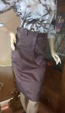 CAROLYN TAYLOR SKIRT CHOCOLATE BROWN, NEAR NEW, LOVELY VERSATILE COLOUR SIZE 10