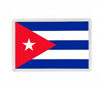 BANDERA CUBA CUBA FLAG FRIDGE MAGNET IMAN NEVERA