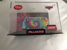 Disney Pixar Cars Fillmore Disney Store Diecast Collectible Van in Case CHASE