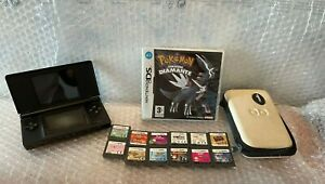 Nintendo ds lite black nero con pokemon diamante e tanti giochi