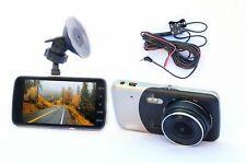 """New FULL HD Car Windscreen Dash Camera 4""""inch 170°  Dual Cam Video Recorder"""