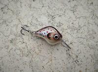 28mm Balsa Handmade Micro Crankbait Fishing Lure Hot Spot