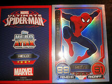Hero Attax 2014 Marvel limited Edition LE1 Spiderman Sammelkarte