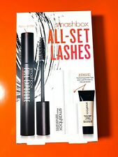 Smashbox All Set Lashes Trio - Mascara, lash & eye primers New in Box. Fresh.