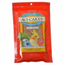 LM Lafeber Classic Avi-Cakes Gourmet Parakeet, Cockatiel & Conure Food  8 oz
