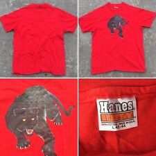 Vintage Black Panther T-Shirt (iron on graphics) L 42-44 Made In Usa 80s 1980s