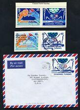 Lot of 55 stamps, Uk, 1994 Scott Identified, Nine Complete Sets