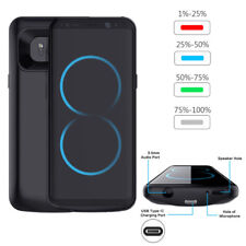 5000mAh Extern Akku Hülle Batterie Backup Power Case für Samsung Galaxy S8