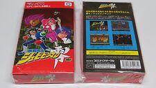 Kaizou Choujin Shubibinman Zero Super Famicom Japan NEW qualité Royaume-Uni Jour Même navire