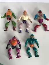 Vintage He-man MOTU Masters of the Universe Broken Lot For Repairs