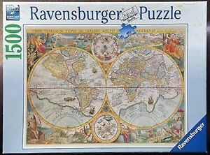 Ravensburger Historical Map Puzzle 1500pc