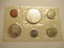 1965 Royal Canadian Mint Proof-Like 6 coin set, 80% silver,