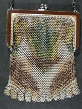 Vintage Painted Mesh Whiting Davis PURSE