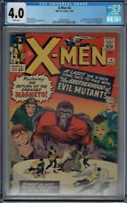 CGC 4.0 X-MEN #4 WHITE PAGES SCARLET WITCH & QUICKSILVER 1ST APPEARANCE 1964