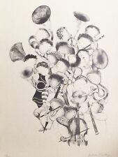 "Graciela Rodo Boulanger "" La Musique "" Original Lithograph Art"