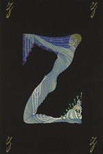 """ERTE SERIGRAPH, """"LETTER Z"""" PENCIL SIGNED AND NUMBERED, LOOK AT MY STORE"""