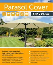 GREEN WATERPROOF LARGE PARASOL UMBRELLA COVER HEAVY DUTY OUTDOOR PROTECT 24X162