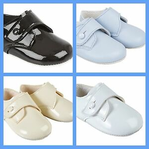B05 Bay Pods Baypods Baby Shoes Boy Christening Wedding Pram Occasions Shoes