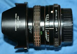 Sigma 28mm Mini wide 2 for Pentax mount