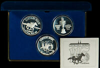 Three 1 oz Silver Round 115th Kentucky Derby - Churchill Downs - Liberty - #X393