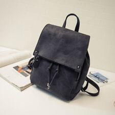 Women's Leather Backpack Shoulder School Book Travel Handbag Rucksack Bags Lot