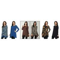 New Attitudes by Renee Regular Renee's Reversibles Tunic. A344076