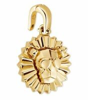 BRAND NEW Michael Kors 14K Gold-Plated Sterling Silver Lion Charm