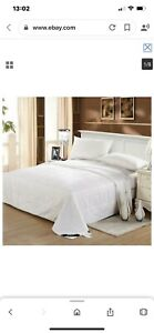 Pure Silk Filled Duvet Quilt - King , Egyptian Cotton Cover, Luxury