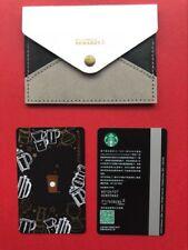 CS1822 China Starbucks coffee Journey MSR card 1pc with bag