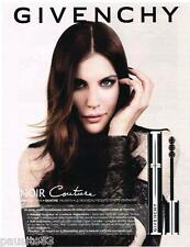 PUBLICITE ADVERTISING 105 2012  GIVENCHY maquillage  HAUTE COUTURE  LIV TYLER