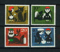 ALEMANIA/RFA  GERMANY 1960 MNH SC.B372/B375 Little Red Riding Hood and the wolf
