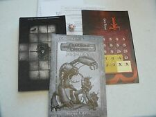 Dungeons Dragons Miniatures Harbinger Entry Pack tiles, map, counters & 1 mini
