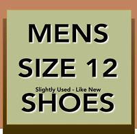 Mens Size 12 D  J&M, BASS, K-Swiss, Rockport, Dockers Pre-Owned Shoes