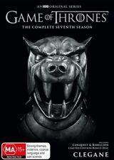 Game Of Thrones Season 7 : NEW DVD + Conquest & Rebellion bonus