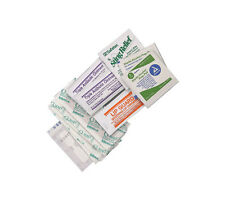 First Aid Kit Refill Mini Wound Care Pack Ifak Bandages Wipes Antibiotic Cream