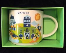 Starbucks Oxford Mug YAH England Dodo University Bird Rowing Cup You Are Here UK