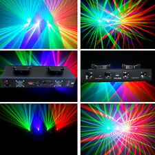 NEW ITEM 4 Lens 250mW Green+Red+Green+Violet DMX Party  Disco Stage Laser Light
