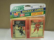 OLDER HOCKEY CARDS 1991- CANADIAN ENGLISH SERIES 1- PAUL COFFEY- NEW- L136