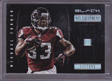 2012 Panini Black NFL Equipment Combos #7 Michael Turner Jersey 62/99