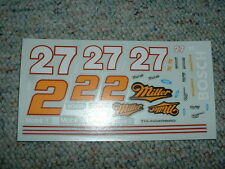 JNJ Hobbies 1/24 25  Decals #2 27 Miller Mazak  PP