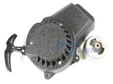 EASY PULL BLACK ALUMINUM PULL START RECOIL 47CC 49CC MINI POCKET BIKE ATV I PU17
