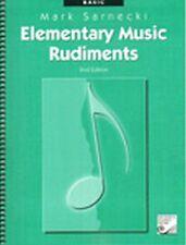 Elementary Music Rudiments Basic 2nd edition Mark Sarnecki