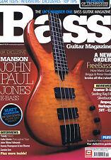 JOHN PAUL JONES E-BASS / FILDY KORN Bass Guitar Magazine 59Oct 2010