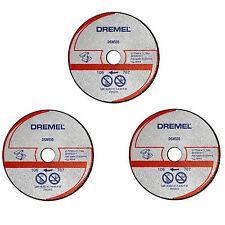 Dremel 3 X DSM510 77 mm metal plástico Corte Hoja De Disco de rueda para DSM20 vio-Max