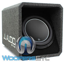 "JL AUDIO HO112-W6V3 12"" SUB LOADED SUBWOOFER ENCLOSURE BASS SPEAKER & BOX NEW"
