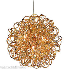 Firstlight Stella 6 Light Globe Pendant, Finish: Copper