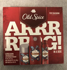 Old Spice Krakengard Antiperspirant and Deodorant, Body Wash, Spray Gift Man Set