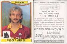 FIGURINA CALCIATORI FLASH 1990-91 ROMA BERTHOLD jk